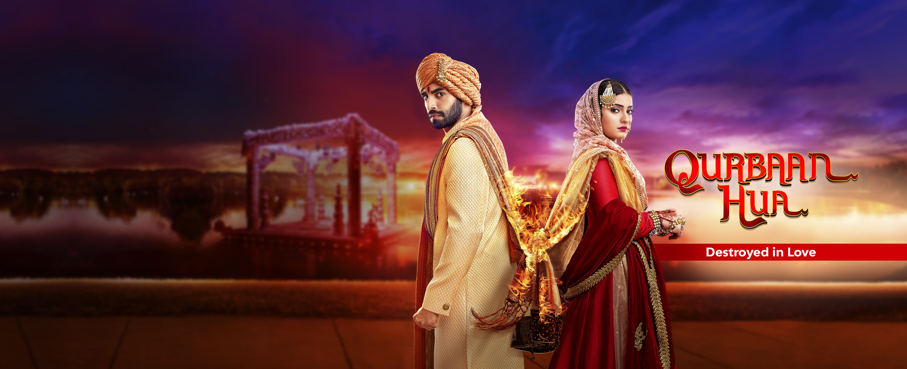 Qurbaan Hua is an intense drama about two passionate individuals caught in a crossfire of destiny, and on a mission driven by love and pride of their families. Despite hailing from starkly different backgrounds and cultures